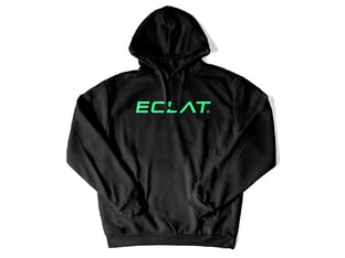 "eclat ""Italic"" Hooded Pullover"