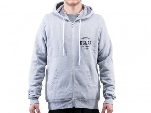 "eclat ""MFG Company"" Hooded Zipper - Heather Grey"