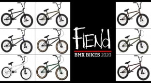Fiend 2020 BMX Bikes - In Stock
