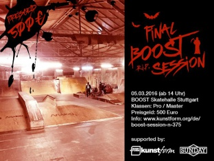 Final BOOST Session - Stuttgart