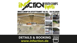 Infaction BMX Camp in Stuttgart