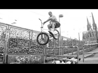 Justin Rudd x Fracture - BMX in Cologne Video