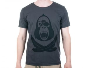 "King Kong ""Pirate"" T-Shirt - Grey"