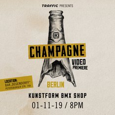 Kink Champagne BMX Video Premiere Berlin
