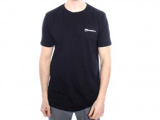 "kunstform ""Back Logo"" T-Shirt - Black"