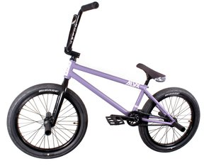 "kunstform ""BSD X eclat"" Custom BMX Rad - Purple/Black"