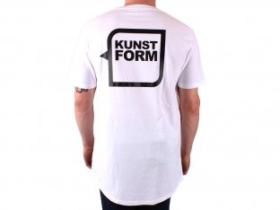 "kunstform ""Back Logo"" T-Shirt - White"