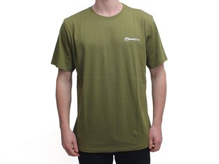 "kunstform ""Back Logo v2"" T-Shirt - Army-Green"