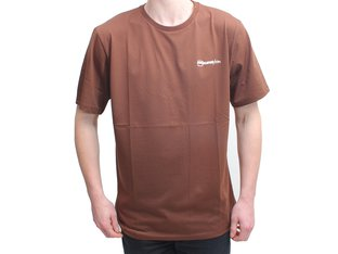 "kunstform ""Back Logo v2"" T-Shirt - Brown"