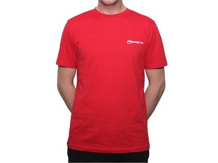 "kunstform ""Back Logo v2"" T-Shirt - Red"