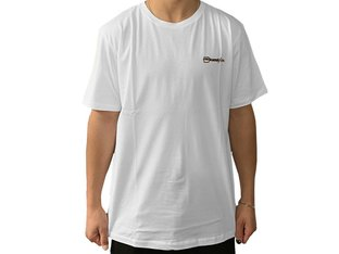 "kunstform ""Back Logo v2"" T-Shirt - White"