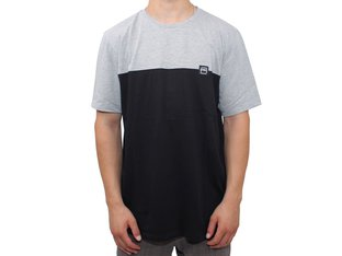 "kunstform ""Block"" T-Shirt - Grey/Black"