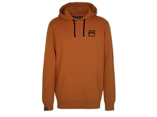 "kunstform ""Breast Logo"" Hooded Pullover - Rust"