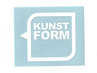 "kunstform ""Helmet Speech Bubble Logo Plotter"" Sticker"