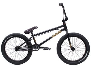 "kunstform ""Mankind X Shadow"" 2019 Custom BMX Bike - Black"