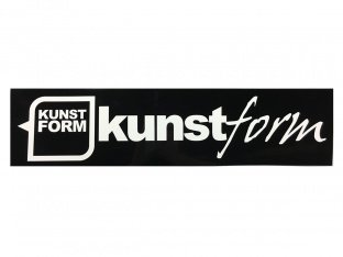 "kunstform ""Ramp"" Sticker"