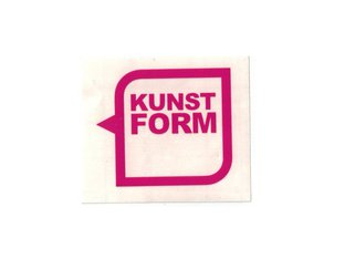 "kunstform ""Speech Bubble Logo Plotter"" Sticker"