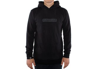 "kunstform ""Team"" Hooded Pullover - Black"