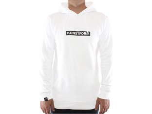 "kunstform ""Team"" Hooded Pullover - White"