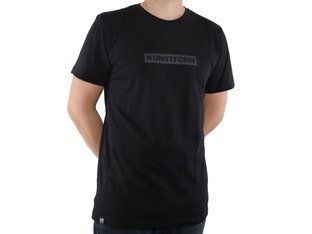 "kunstform ""Team"" T-Shirt - Black"