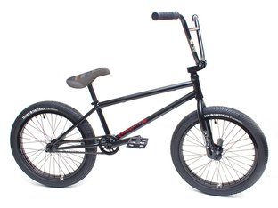 "kunstform ""Tempered X Shadow"" 2020 Custom BMX Bike - Black"