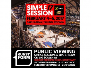Simple Session 17 - Livestream Public Viewing - Stuttgart