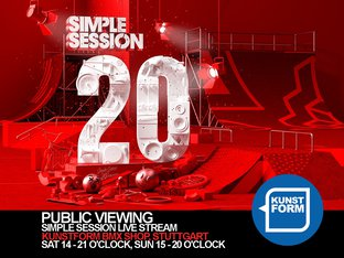 Simple Session 20 - Livestream Public Viewing - Stuttgart