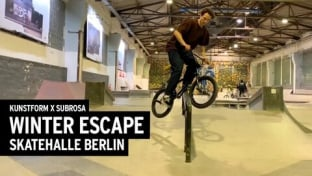 Winter Escape BMX Session #4 - Skatehalle Berlin Video