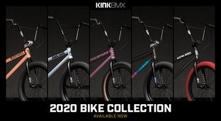 Kink 2020 BMX Bikes - now available