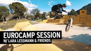 Lara Lessmann & Friends BMX Park Video