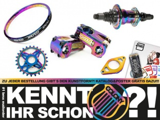 Colony oil slick Teile & Stereo 2015 BMX Räder