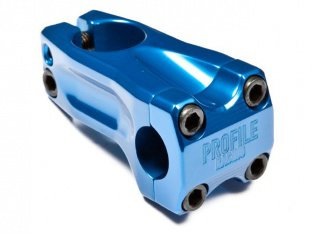 "Profile Racing ""Acoustic"" Frontload Stem - Blue"