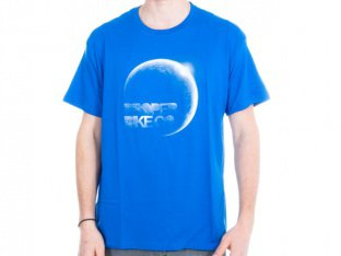 "Proper Bikes ""Moon"" T-Shirt - Blue"