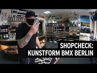 Shopcheck: kunstform BMX Shop Berlin