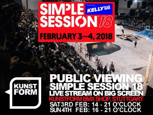 Simple Session 18 - Livestream Public Viewing - Stuttgart