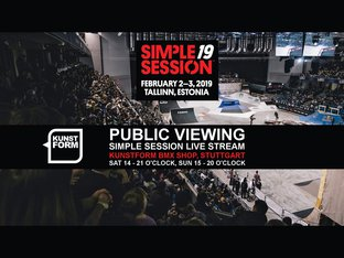 Simple Session 19 - Livestream Public Viewing - Stuttgart