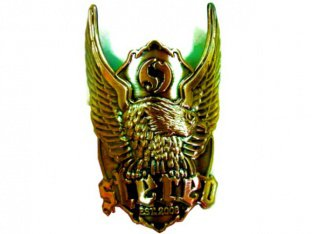 "Stereo Bikes ""Badge Eagle"" Schild"