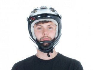 "Urge ""Archi Enduro Airline"" Full Face Helm"