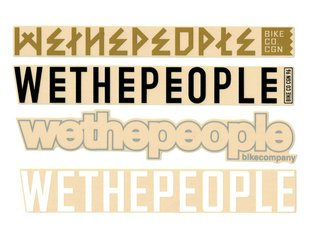 "wethepeople ""4Big"" Stickerset"