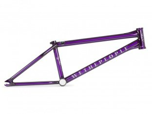 "wethepeople ""Battleship"" 2017 BMX Rahmen - Translucent Purple"
