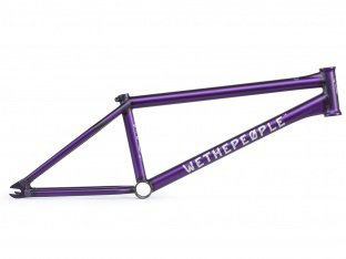 "wethepeople ""Battleship"" 2018 BMX Frame - Matt Trans Purple"