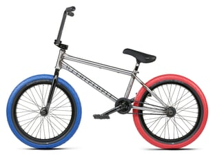 "wethepeople ""Battleship LHD"" 2021 BMX Bike - Raw 