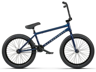 "wethepeople ""Battleship RHD"" 2021 BMX Bike - Abyss Blue 