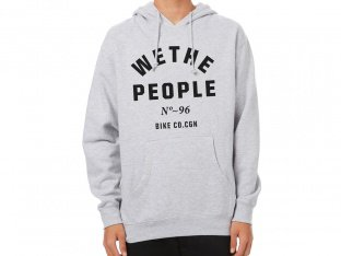 "wethepeople ""Block"" Hooded Pullover - Grey"