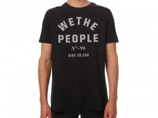 "wethepeople ""Block"" T-Shirt - Black"