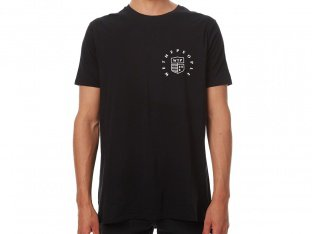 "wethepeople ""Crest"" T-Shirt - Black"