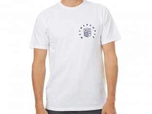 "wethepeople ""Crest"" T-Shirt - White"