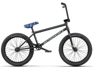 "wethepeople ""Crysis"" 2021 BMX Rad - Matt Black (21"" TT)"