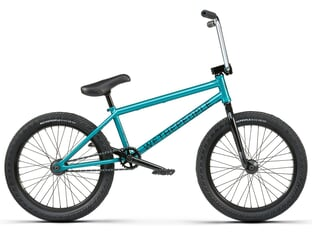 "wethepeople ""Crysis"" 2021 BMX Rad - Matt Trans Teal (21"" TT)"