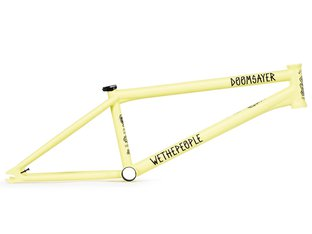 "wethepeople ""Doomsayer"" 2019 BMX Frame - Matt Pastel Yellow"